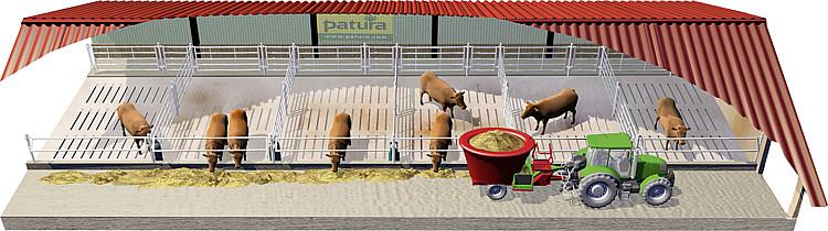 Как создать ферму быков